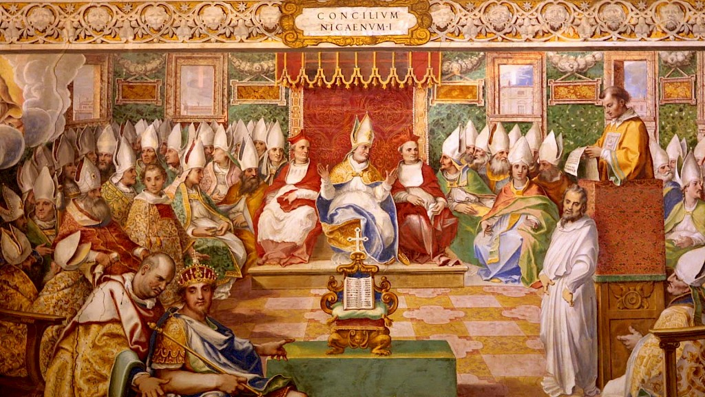 Was the date for Christmas decided at the Council of Nicaea (AD 325)?