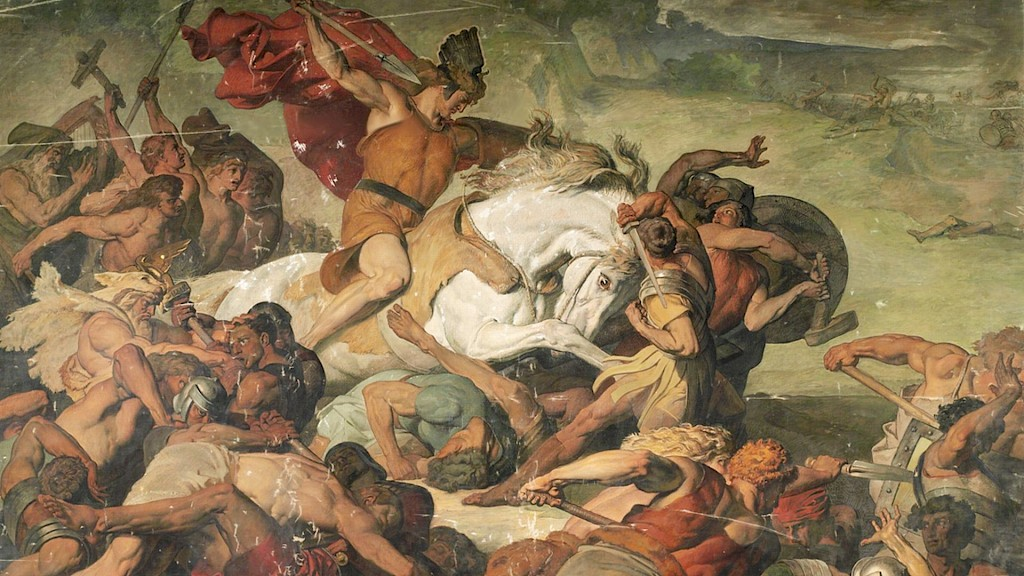 Were there any Roman survivors at the Battle of Teutoburg Forest?
